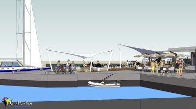 Proyecto para Puerto Deportivo del Carmen. Lanzarote.