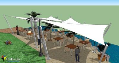 Proyecto Terraza Playa Blanca. Lanzarote.