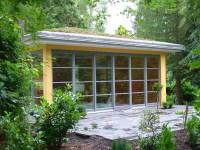 Gartenhaus als Wochenendhaus