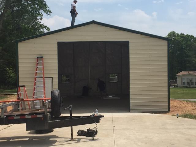 Commercial Garage 30 X 35 X 14 Shop Metal Garages Online
