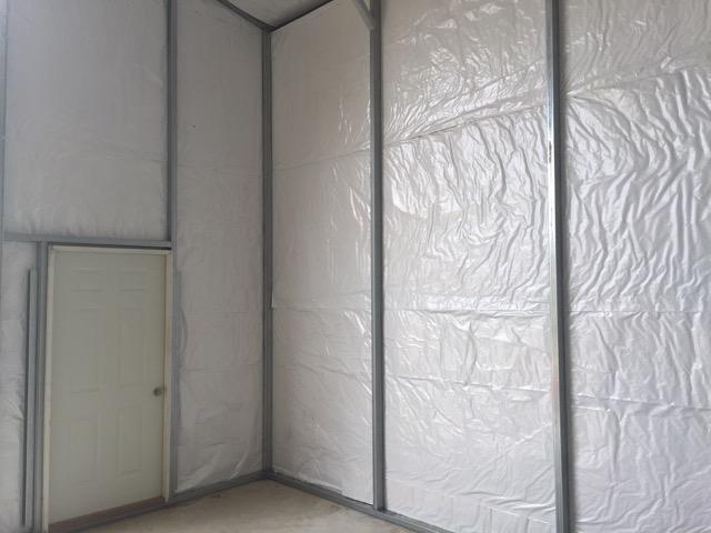 Insulation Garage Building Metal Ceiling