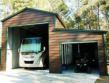 Metal RV Carports RV Cover Kits Amp Custom RV Shelters For
