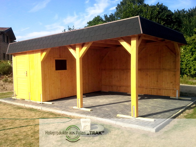 carport asu holz projekte13 003 carports aus polen. Black Bedroom Furniture Sets. Home Design Ideas