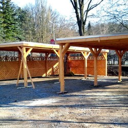 einfache carport aus holz holzprodukte aus polen. Black Bedroom Furniture Sets. Home Design Ideas