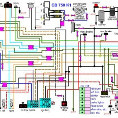 Cb750 Wiring Diagram 12vdc To 12vac Converter Circuit Honda Electrical Fittings Kit – Carpy's Cafe Racers