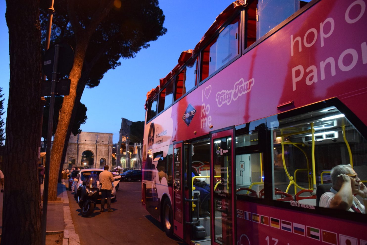 I Love Rome Bus