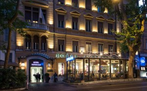 The Hotel Imperiale in Rome