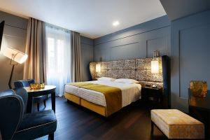 The Hotel Stendhal in Rome