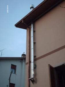 Installazione canne fumarie