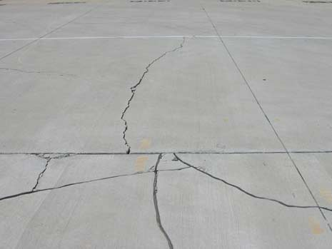 NDT Services at a Distribution Center Concrete Pavement