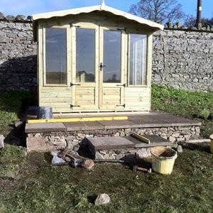 Patio Base for Summerhouse