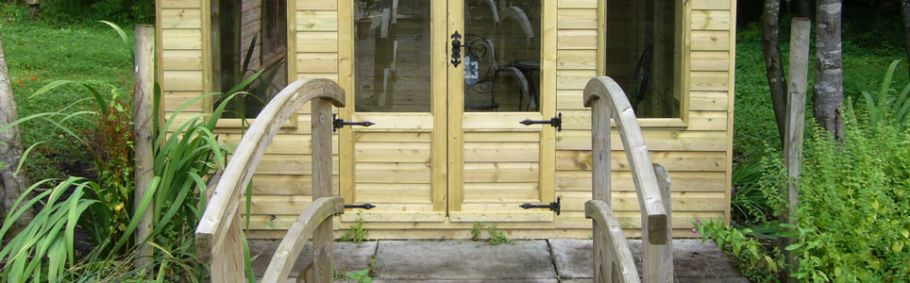 Coniston Summerhouse Doors
