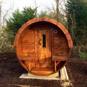4m Carrbank Sauna Barrel