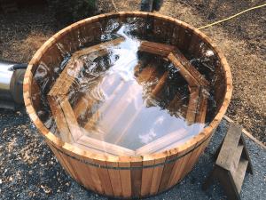 Western Red Cedar Hot Tub from Carr Bank Garden Centre