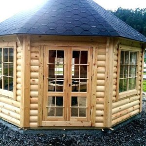 17m Grill Pavilion from Carr Bank Garden Centre