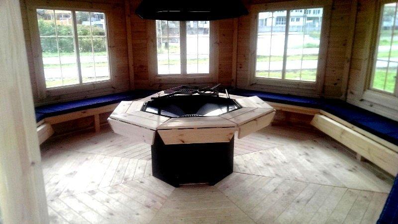16.5m² Grill Pavilion