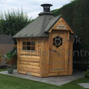 4.5m Baby Grill Cabin