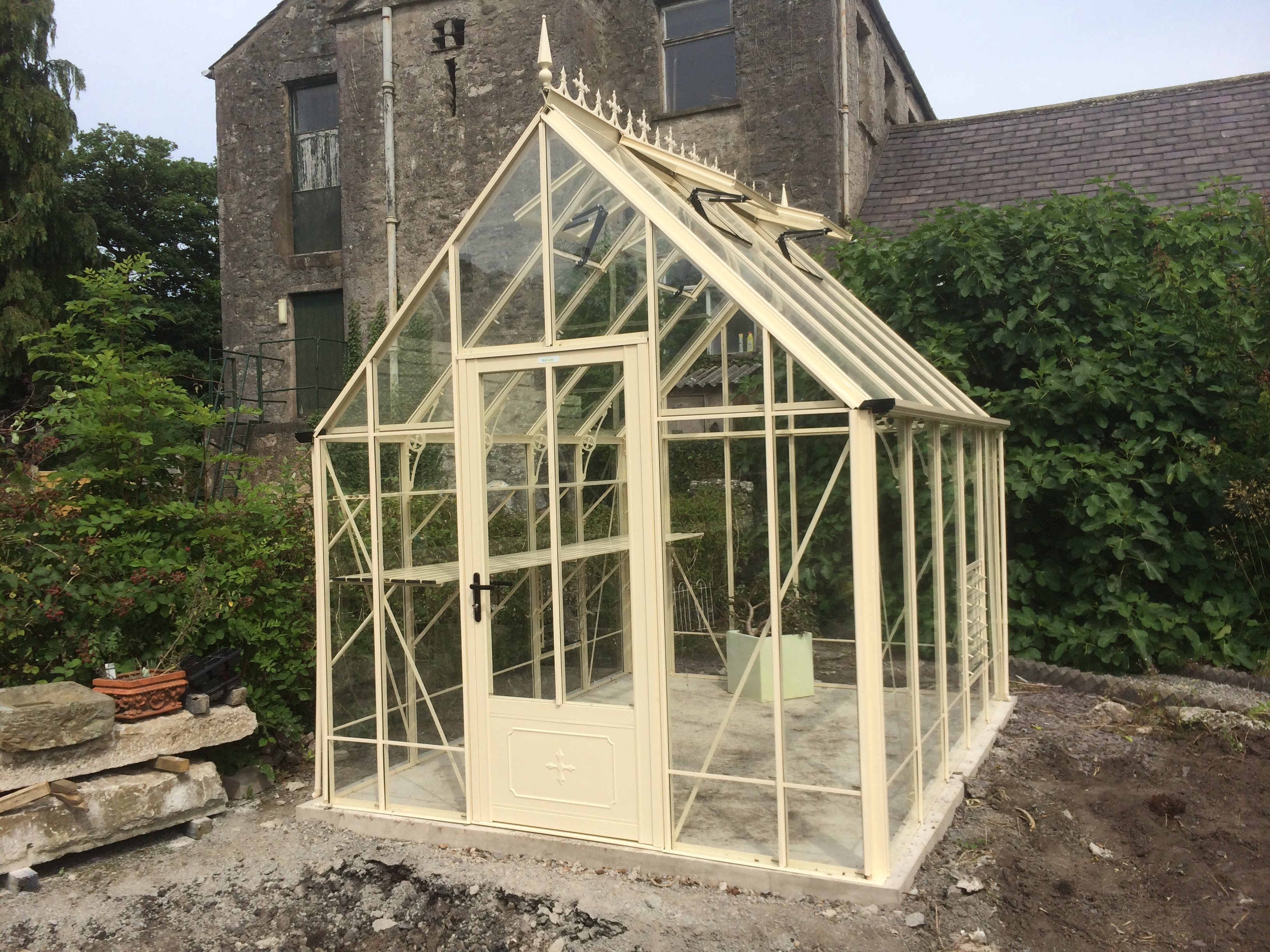 Victorian Greenhouse Installation