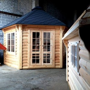 10m Grill Pavilion from Carr Bank Garden Centre