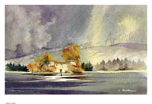 Jeff Buttress watercolour painting