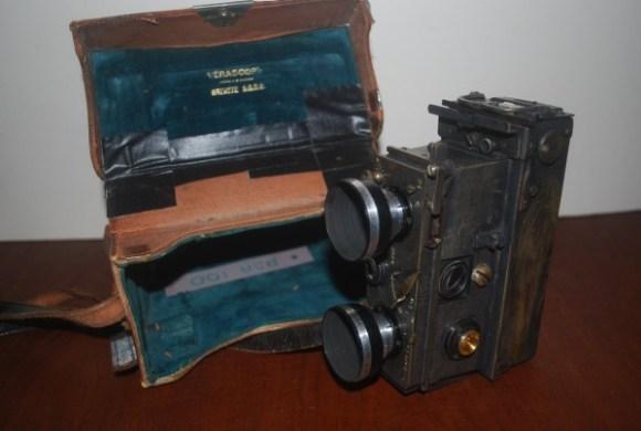 Verascope movie camera