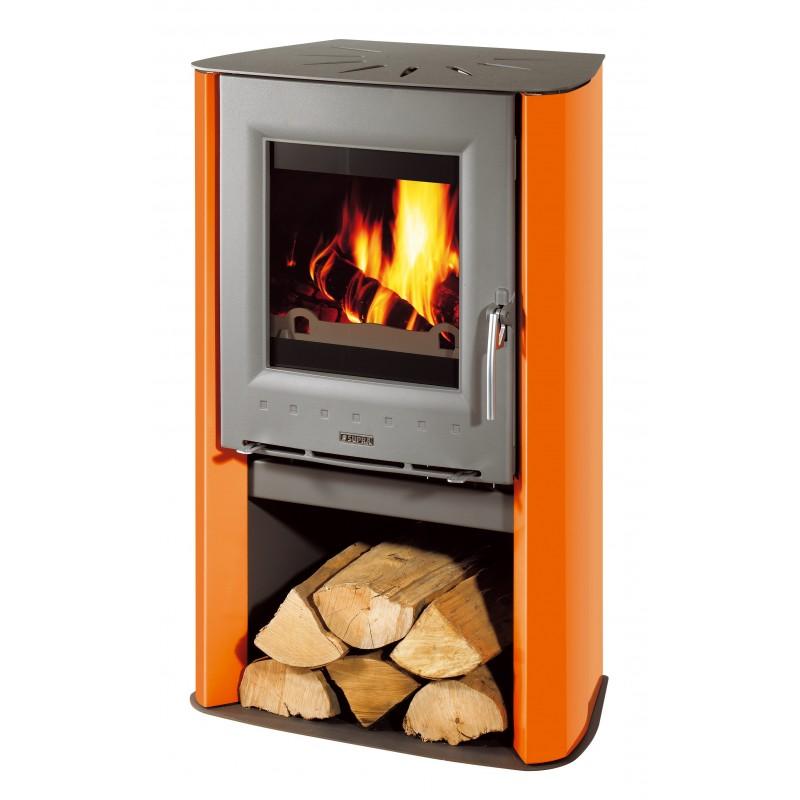 Pole  bois SUPRA ARTIS Orange 7 kW