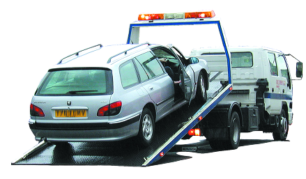 van recovery towing