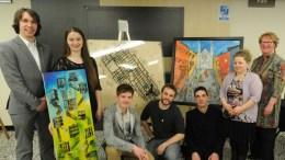 Les gagnants du concours d'oeuvres d'art