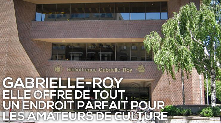 Bibliothèque Gabrielle-Roy