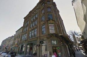 Les Lofts du Trésor sont situés dans cet immeuble. Photo: Google