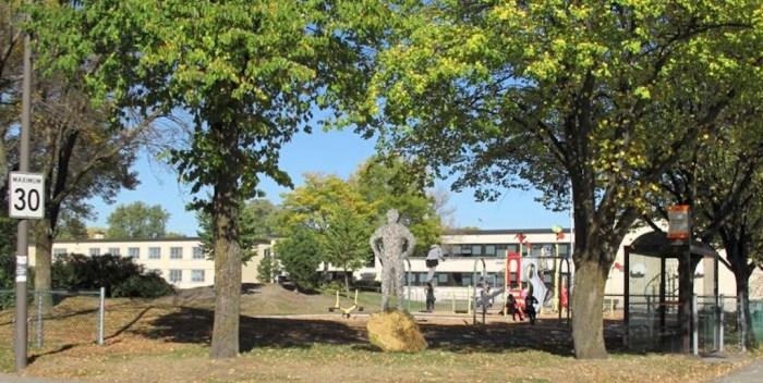 Parc-école Sainte-Odile: L'œuvre dévoilée