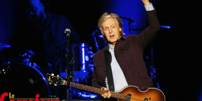 Superbe prestation de Paul McCartney (photos)