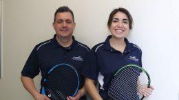 Équipe de tennis au Cégep de Sainte-Foy