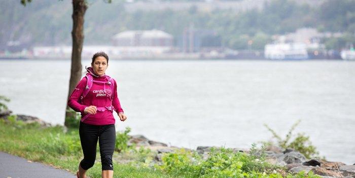 Jessica Lange26 marathons 26 jours