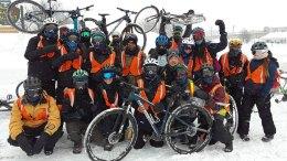 Des participants au Challenge polaire