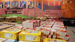 Produits pour l'aide alimentaire du Patro Roc-Amadour