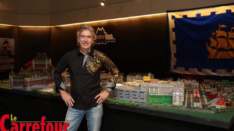 Gilles Maheux, concepteur de l'exposition Ludovica Miniland