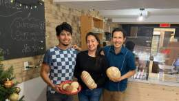L'équipe de la Boulangerie La Molette