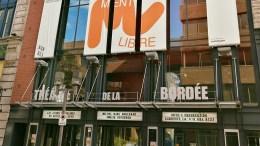 Devanture du théâtre La Bordée