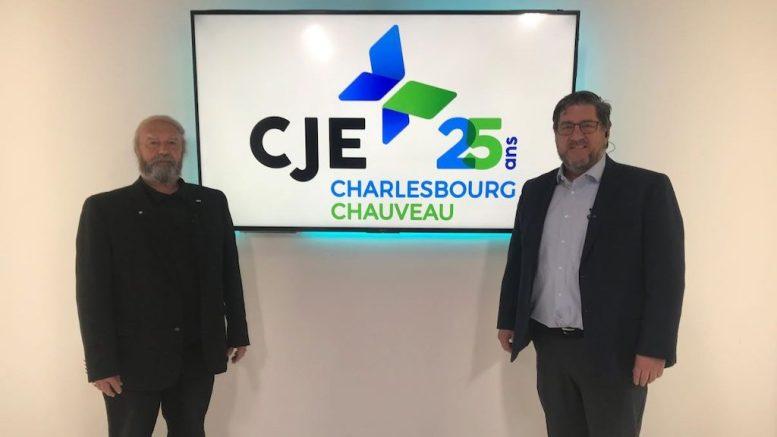 André Jalbert, président, et Serge Duclos, directeur général du CJECC