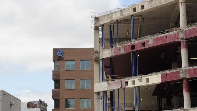 Une vue de l'immeuble de la CSQ dans Saint-Roch