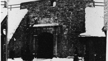 La porte Saint-Jean, vers 1860