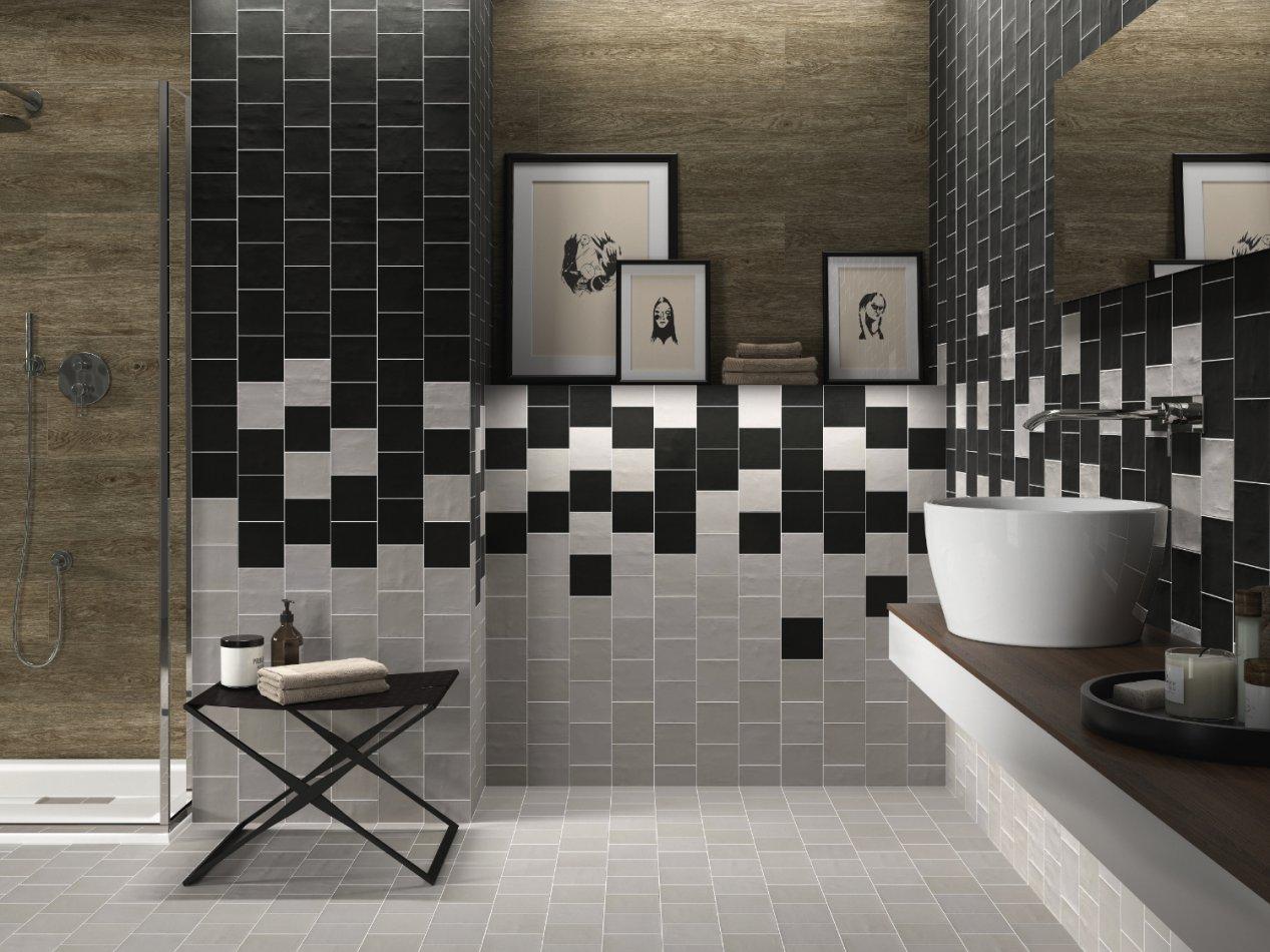 carrelage salle de bains meubles et