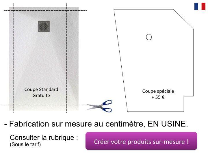 receveur de douche 80x100 cm