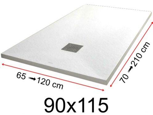receveur de douche 90x115 cm