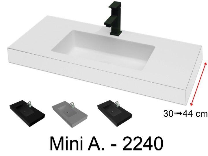 Plan Vasque Vasque Lavabo 60 X 40 Cm De Petite Tailles Suspendue Ou A Poser Fabrication Sur Mesure Mini A 2240