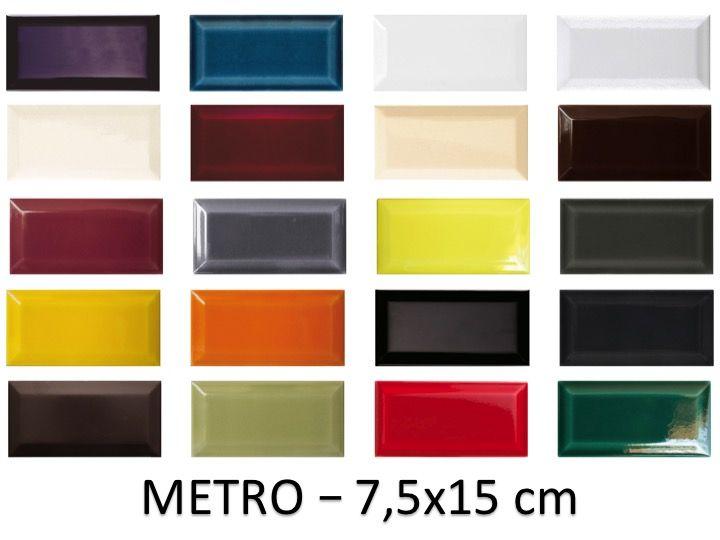 carrelage mural type metro metro 7