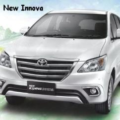 All New Kijang Innova Silver Grand Avanza Vs Rush Toyota Bali Car Rental Hire Driver Cheap
