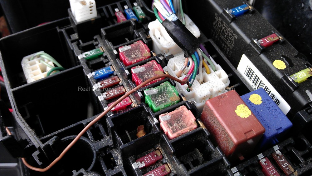 medium resolution of dlr source connected to fuse box ignition supply