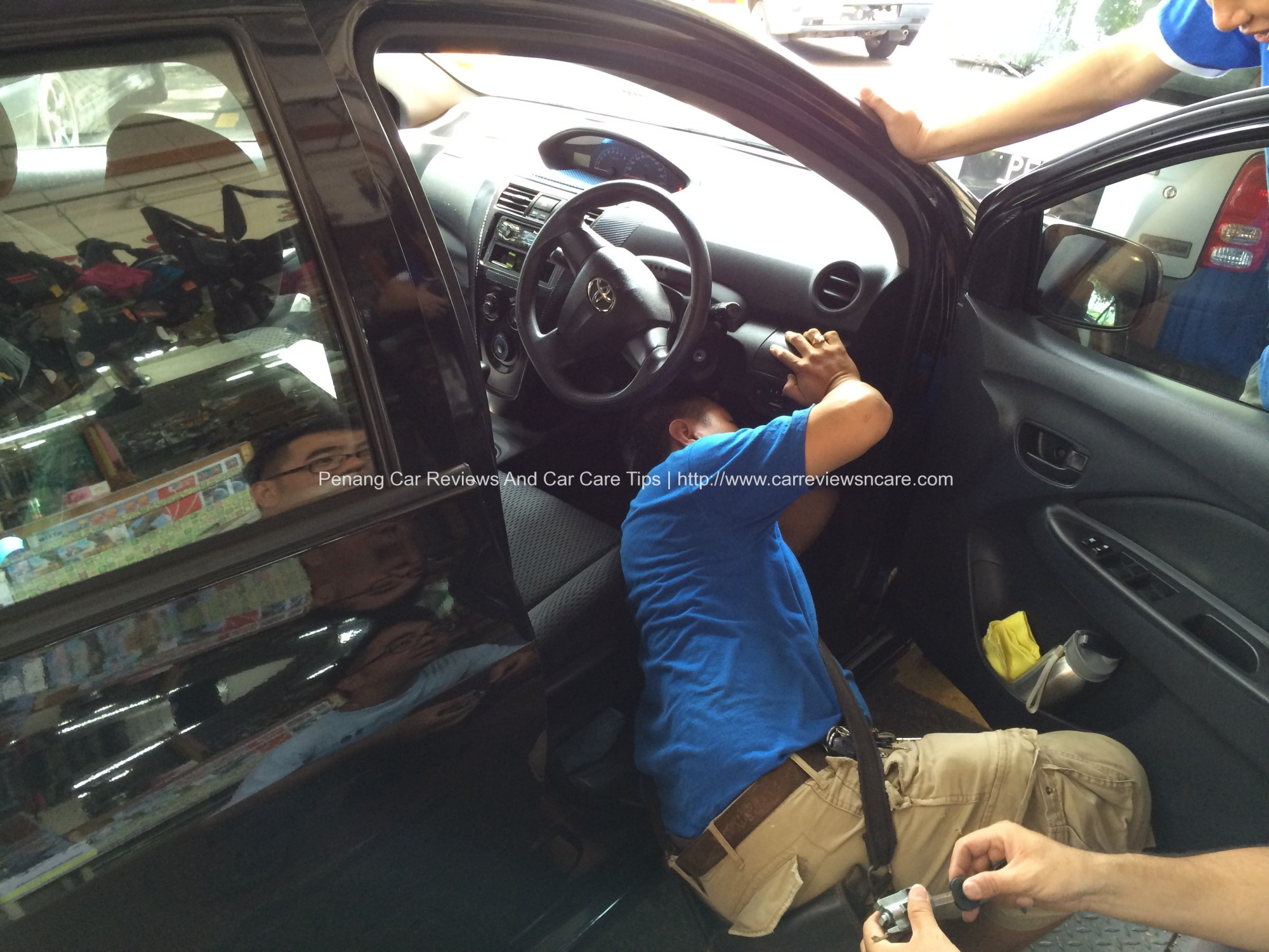 hight resolution of cobra meta module installation in toyota vios